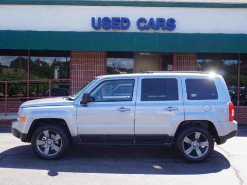 Certified Pre-Owned 2015 Jeep Patriot High Altitude Edition