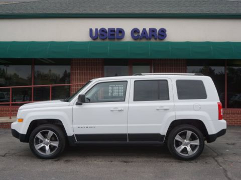 CERTIFIED PRE-OWNED 2016 JEEP PATRIOT HIGH ALTITUDE FWD HIGH ALTITUDE 4DR SUV