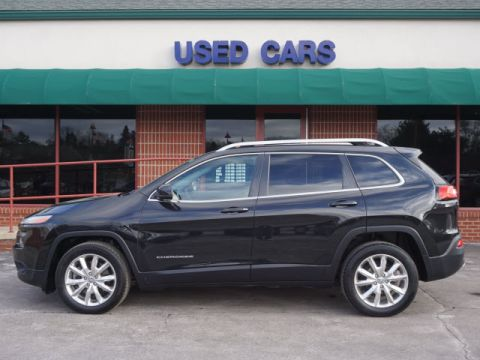 PRE-OWNED 2014 JEEP CHEROKEE LIMITED FWD LIMITED 4DR SUV