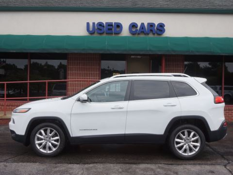 CERTIFIED PRE-OWNED 2015 JEEP CHEROKEE LIMITED FWD LIMITED 4DR SUV