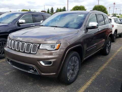 NEW 2017 JEEP GRAND CHEROKEE OVERLAND 4X4