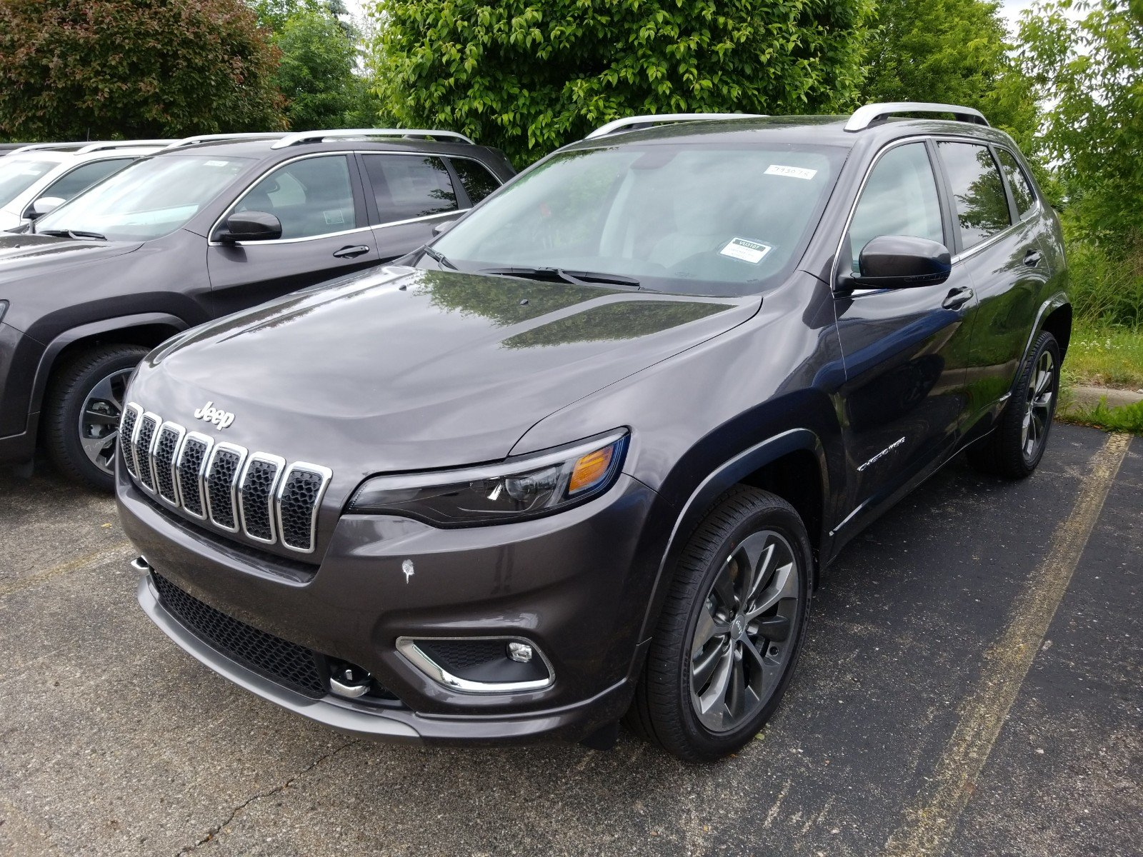 New 2019 JEEP Cherokee Overland Sport Utility in Washington J