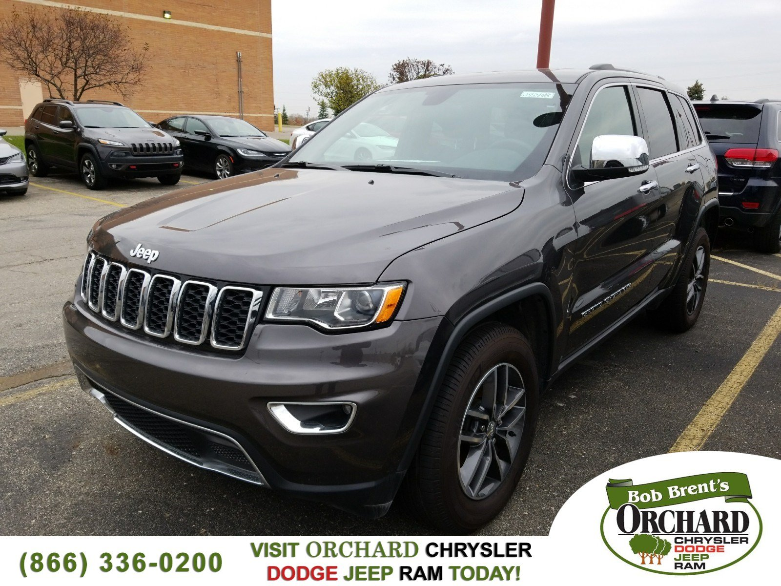 Pre Owned 2017 Jeep Grand Cherokee Limited Demo