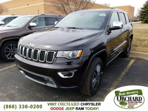 New 2018 JEEP Grand Cherokee Limited Demo